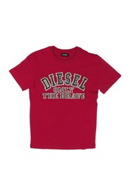 DIESEL TIPPI 00J3Y2 00YI9 T SHIRT AND TANK Unisex Boys RED
