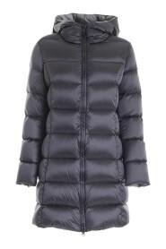 Detachable Fur Shiny Down Jacket