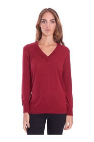 V-NECK SWEATER IN LUREX