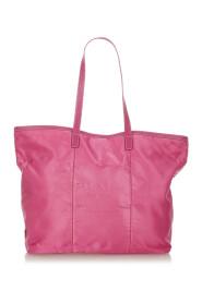 Pre-owned Tessuto Canapa Tote Bag