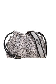 eva coulisse bag with animalier print