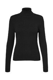 VMHAPPINESS LS ROLLNECK BLOUSE GA