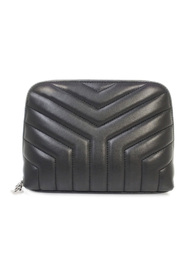 Loulou Leather Pouch