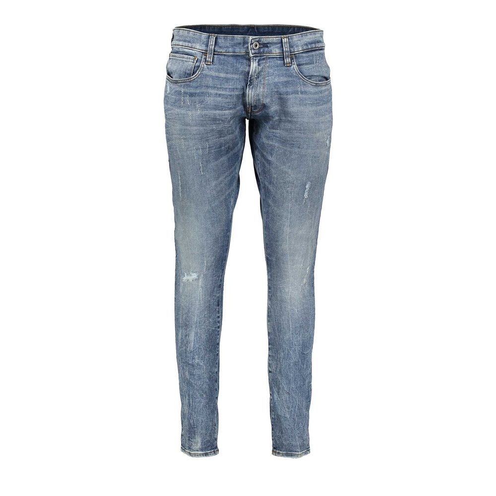 Deconstructed Super Slim jeans