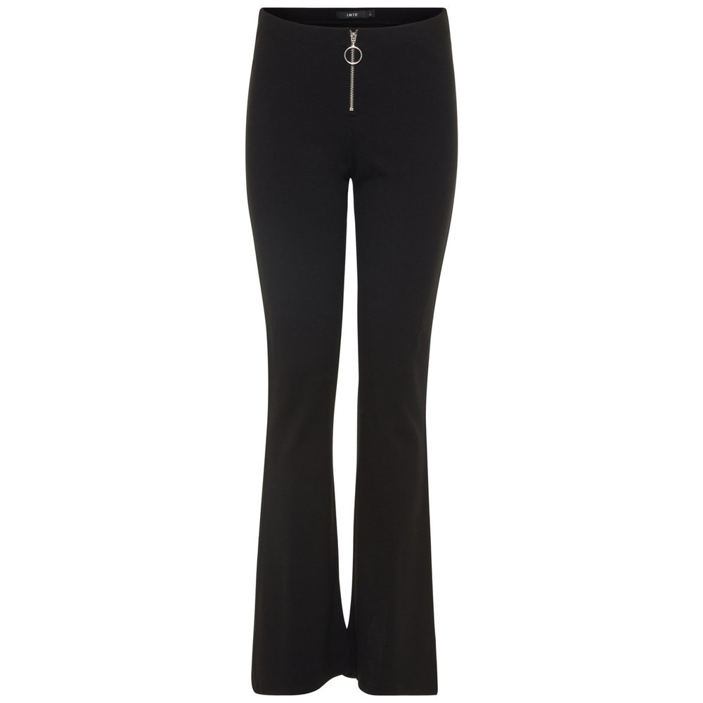 Trousers flared viscose