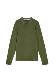 Chaser knit polo shirt