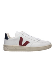 Shoes leather trainers sneakers v 12