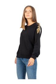 Sweatshirt with Fly embroidery