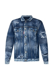 Over Jean denim jacket
