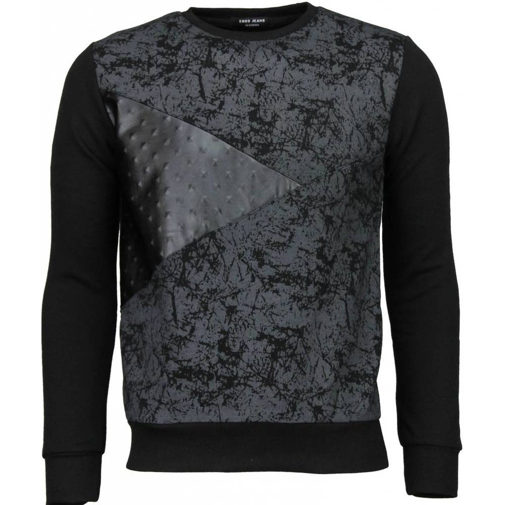 Triangle Wall - Sweater - Zwart