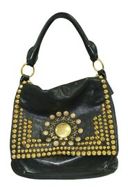 Soha Moyen Studded Hobo Bag
