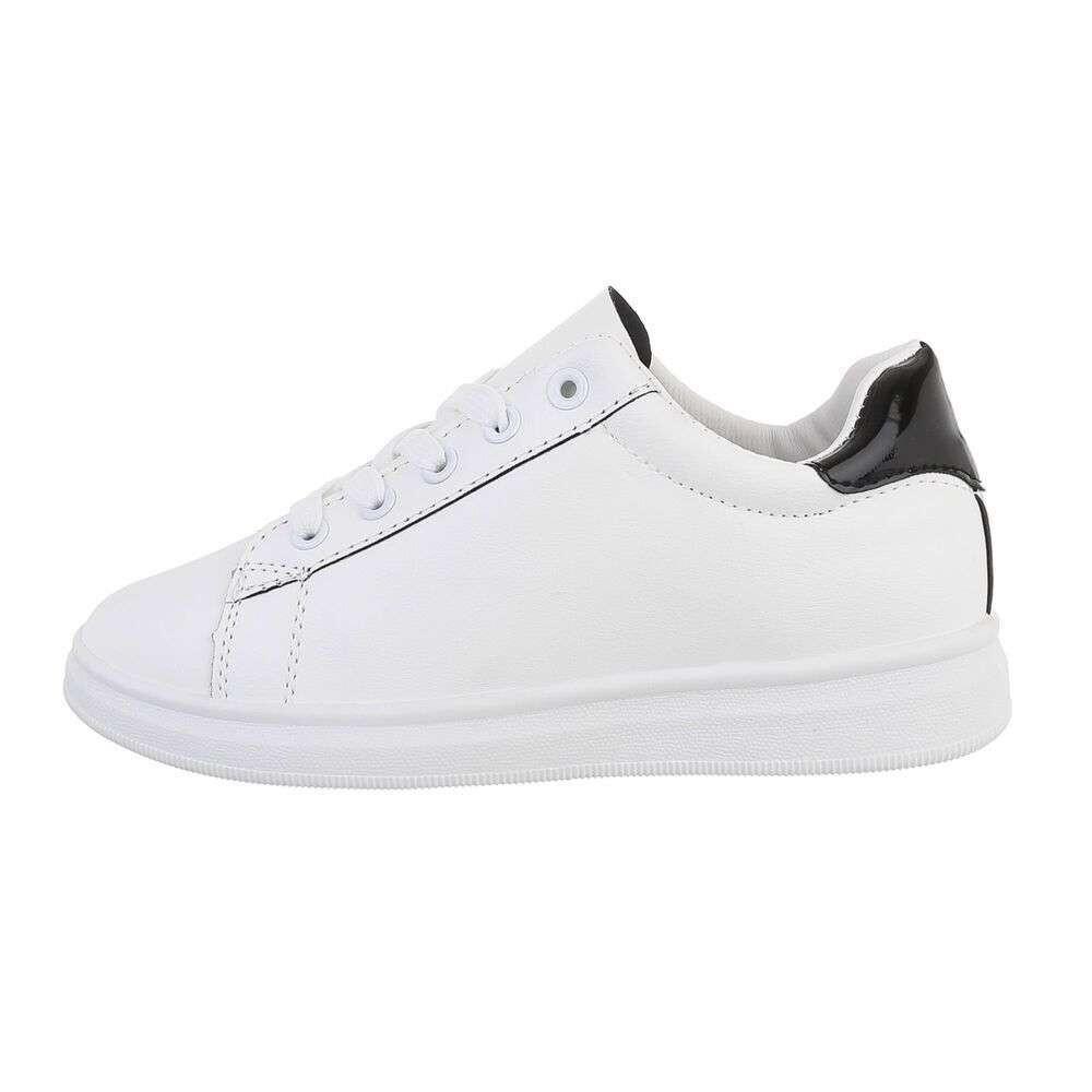 White Farola  Unisa  Sneakers - Sko Til Dame