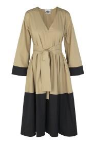 Ellie contrast dress