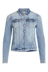 Hvil VISHOW DENIM JACKET lyseblå