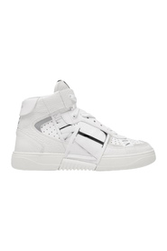 High-Top Sneakers Leather