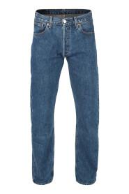 Kongeblå Levi´s 501 Jeans