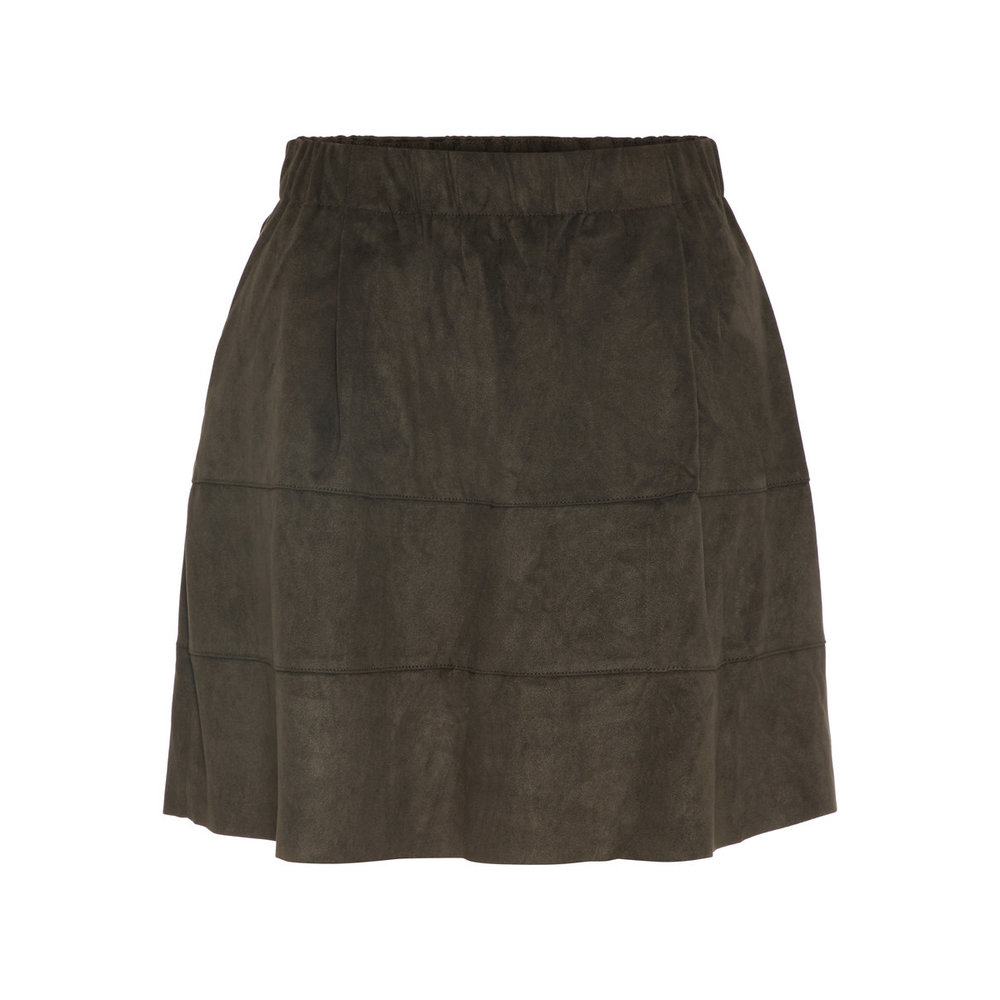 Skirt Faux Suede