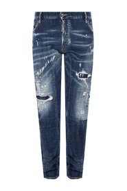 'Tidy Biker Jean' distressed jeans