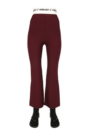 TROUSERS WITH LOGO BAND