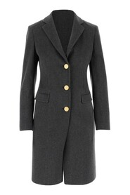 Coat made of wool and cashmere