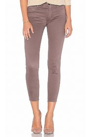 Jeans Brown Skinny Fit Zip-Fly Stretch