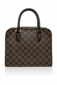 Pre-owned Damier Canvas Triana Bag Condition Very Good