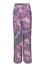 Nuala Pants - Snake Purple