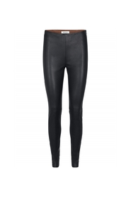 Lucille Stretch Leather Leggings