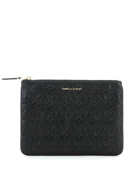 Plånbok i svart läder ko