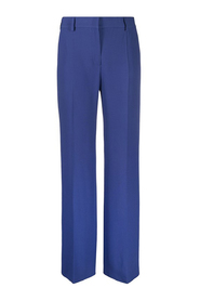 Flared trousers with darts