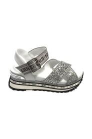 Scarpe sandalo Maxi Wonder in pelle BA1081
