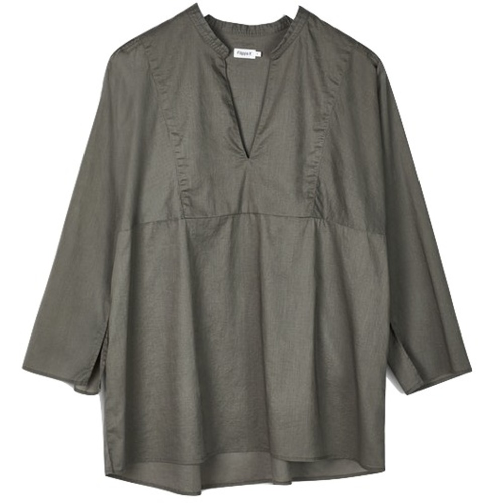 Filippa K Light Pleat Blouse Sage