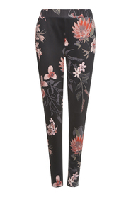 TRAMONTANA - Trousers flower print
