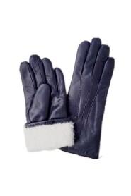 Handskbutiken Varma Handskar Fårskinnshandskar Lammpälshandskar Marin blå