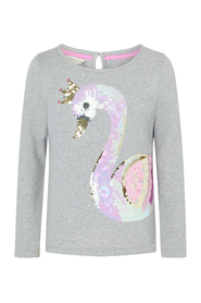 Sparkle Swan Daywear Top