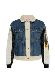 Jacket with decorative sleeves