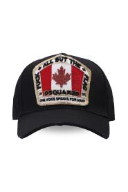 Baseball cap med merke