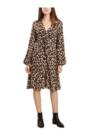 Freesios leopard print dress