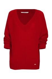 Sweter wełniany z mohairem Tess242
