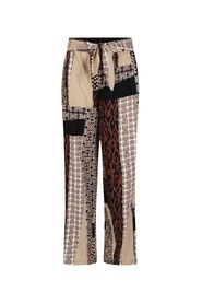 Trousers Wide Leg Mixed Graphic Print