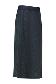 Studio Anneloes Beth panter skirt Coolgrey/deepgreen