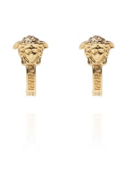 Medusa head earrings
