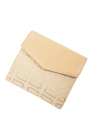 Pre-owned Vintage Cloth Bifold Wallet