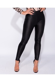 Wet Look High Waisted Leggings