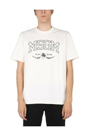 T-SHIRT WITH COLLAGE LOGO