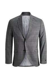 Single breasted checked Blazer