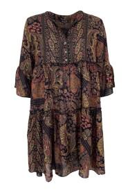 VEGA short boho dress