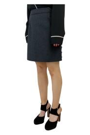 Brukt mini-skjørt i ull