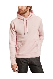 Mixed fleece hoody
