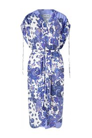 MACI COVER-UP - HOLIDAY PAISLEY DRESS